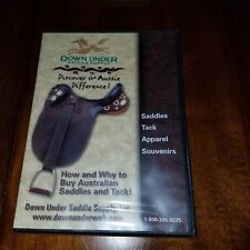 Down under supply dvd how to buy Australian saddles and tack NEW apparel souveni
