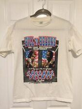 1991 Vintage Virgil Hill vs Thomas Hearns Boxing T-shirt Size M