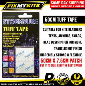 TUFF TAPE STORMSURE - FREE POST - Inflatable Tent, Bladder, Tarp, Awning, Cam...