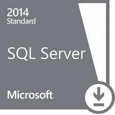 SQL Server 2014 Standard Edition With Service Pack 1 Licensed / Genuine Download