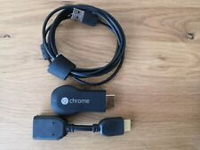 Google Chromecast Digital Media Streamer - Schwarz