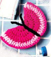 HANDY Butterfly Scrubby/Decor/Crochet Pattern INSTRUCTIONS ONLY