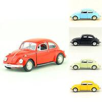 1967 VW Beetle 1:36 Model Car Metal Diecast Gift Toy Vehicle Kids Pull Back