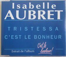 "ISABELLE AUBRET - CD SINGLE PROMO ""TRISTESSA"""