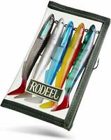 """Rodeel 5pcs Sea Fishing Lures with Fishing Lure Wraps PVC Lure Cover 6"""" Sandeel"""