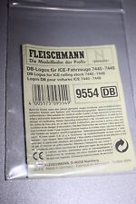 Fleischmann 9554 DB-Logos für ICE-Fahrzeuge 7440-7449 Spur N OVP