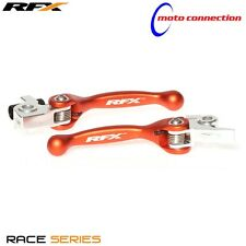 RFX FLEXIBLE LEVER SET ORANGE KTM EXC250 EXC300 2017 BRAKE & CLUTCH    FXFL50600