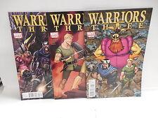 Warriors Three Marvel Comic Books Norse Thor Mythology Willingham Ragnarok