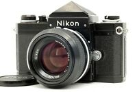 [N.MINT] Nikon New F Apollo Eye Level Black w/ 50mm F1.4 Nikkor Lens  From JAPAN