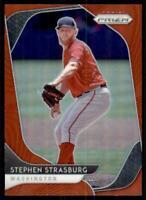 2020 Prizm Red Prizm #93 Stephen Strasburg - Washington Nationals