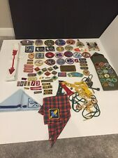 Vintage Boy Scout Patch Lot Of Over 70 Plus More
