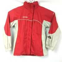 Columbia Titanium Omni Shield Jacket Womens Size M Red Waterproof Breathable Ski