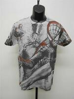 "NEW Spiderman Marvel ""SPIDERGLYPH"" Adult Mens Sizes S-M-L-XL-2XL Shirt"