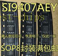 10 pcs SI9407BDY  SI9407BDY-E3  VISHAY  P-Channel 60V 4,7A 2,4W 0,12R SO8  #BP
