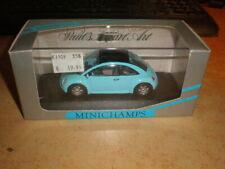 MINICHAMPS 1/43 VW Concept Car Saloon 1994    blue        MIB