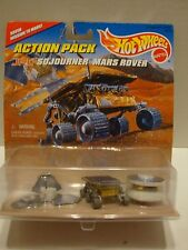 Hot Wheels Action Pack JPL Sojourner Mars Rover & Pathfinder 1:64 DiecastC4-62