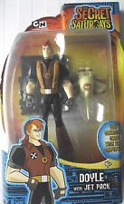 "CARTOON Network / Secret Saturdays / 6"" ACTION FIGURE / Doyle Con Jet Pack / NUOVO"