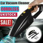 Cordless Wet & Dry Car Vacuum Cleaner Powerful Handheld Rechargeable Home Hair