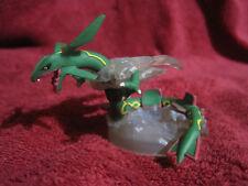 1 Pokemon Figur/Zukan:Rayquaza+Rauch-Base/8cm,gebraucht/Yujin/Figure/F46