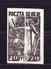 (PL) Polish Officers POW Camp Woldenberg Fi 17 blackprint expertised