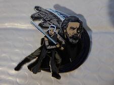 Disney Trading Pins 124080 Star Wars: The Last Jedi - Rey & Luke Skywalker Pin