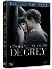 DVD *** CINQUANTE NUANCES DE GREY *** version longue + version cinéma ( neuf )