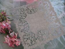 "25 PC❤ 8"" IN SQUARE WHITE PAPER doily LACE DIYS WEDDING ENVELOPE FLORAL Elegant"