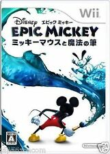 Used Wii Disney Epic Mickey  Nintendo JAPAN JP JAPANESE JAPONAIS IMPORT