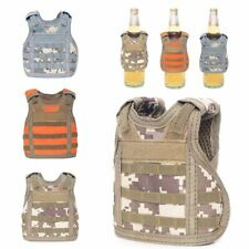 New Mini Tactical Military Vest Soda Beer Bottle Coozie Coolie Koozie Cover Case