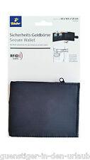 TCM Tchibo Sicherheits Geldbörse Geldbeutel Portemonnaie schwarz RFID SAFE