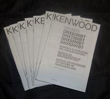 Kenwood < Instruction Manual > for DNX9960 - BT GPS Navigation System