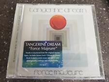 Tangerine Dream  - Force Majeure   Remastered  ( CD Album )  New!