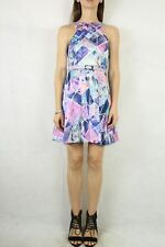 COOPER ST Colourful Belted Dress Size 8