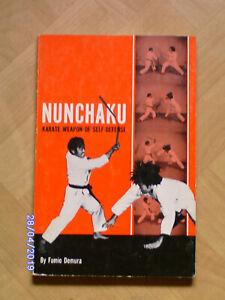 Nunchaku Karate Weapon of Self-Defense by Fumio Demura - Kobudo - original rare