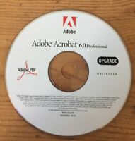 2003 Acrobat 6.0 Professional Software Upgrade Installation CD For Macintosh Mac