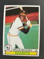 Topps San Francisco Giants 1979 Willie McCovey Trading Card #215