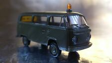 ** Brekina 33200 VW T2 Military Personnel Bus - FOLLOW ME 1:87 HO Scale