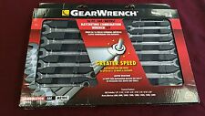 Gearwrench 16pc Ratcheting Combination Wrench Set 4332 Metric SAE NEW!