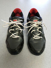 PUMA black, silver and red, running shoes. Men's 11.5 (eur 45)