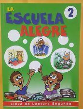 La Escuelita Alegre #2 Libro de Lectura a Color-172 paginas Educativo Honduras