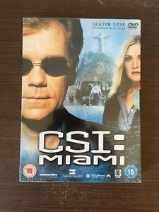 C.S.I. - Crime Scene Investigation - Miami - Series 5 - Vol.1 New And Sealed