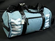 Victoria's Secret PINK Duffel Bag Large Gym Tote Logo Blue