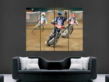 CHRIS HOLDER SPEEDWAY RIDER ART WALL PICTURE POSTER  GIANT HUGE