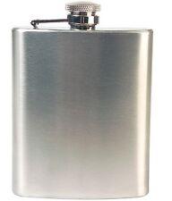 Flachmann aus Edelstahl Edelstahl-Flachmann Schnapsbehälter Taschenflasche 0,2 l