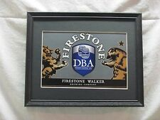 FIRESTONE DOUBLE BARREL ALE BEER SIGN  #932
