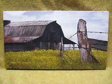SPRING Barn Canvas Painting Wall Decor Farm Country Seasons