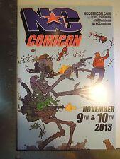 North Carolina Comic Con 2013 Show Guide Geof Darrow Shaolin Cowboy Cover Art NC