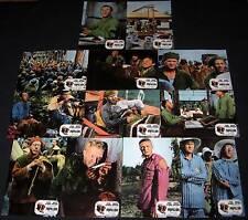 1973 Papillon ORIGINAL SPAIN LOBBY CARD SET Steve McQueen Dustin Hoffman
