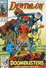 Deathlok 5 X-Men Fantastic Four Marvel 1991 2nd Series Nm V Vol Volume 2 V2