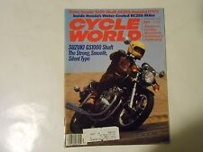 NOVEMBER 1980 CYCLE WORLD MAGAZINE,SUZUKI GS1000 SHAFT COVER,HONDA RC250,IT175,